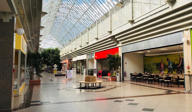 Ausbaufähig: der Kundenstrom im UNO Shopping NEU.
