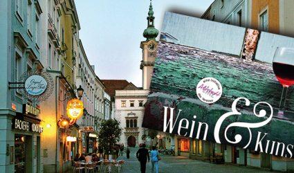 Wein & Kunst 2018: Drei Tage Genuss in der Linzer Altstadt