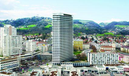 Der neue Brucknertower – ein Riese und doch ein Zwerg