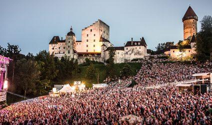 55.000 stürmten heuer die Burg Clam Konzerte!