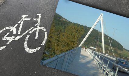 Stau wirkt: Radler-Boom auf der Steyregger Brücke