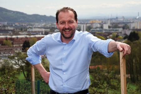 """Vizebürgermeister Bernhard Baier: """"Unser Wald wächst!"""""""