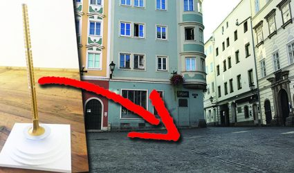 Die Linzer Altstadt erhält einen Lichtbrunnen als neue Attraktion