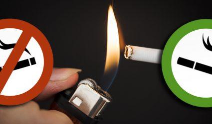 Das Nichtrauchervolksbegehren startet: 900.000 Unterschriften als Ziel
