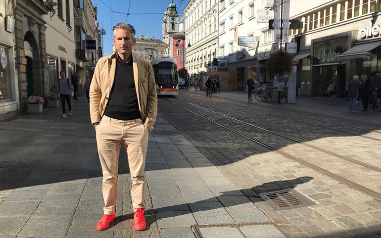 """Linzer Innovationspreis-Erfinder Lorenz Potocnik: """"Der USP der Landstraße ist verlorengegangen. Es braucht einen komplett neuen Denkansatz ohne Verbote."""""""