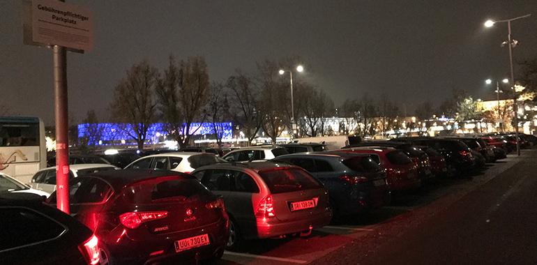 Kann teuer kommen: Der AEC-Parkplatz am Jahrmarktgelände