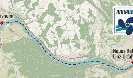 """Nur 14 Minuten Fahrzeit: """"Donaubus""""-Katamaran verbindet ab Mai 2019 Linz mit Ottensheim"""