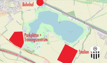 """LASK-Stadion soll auf zwei Pichlinger Standorte """"aufgeteilt"""" werden"""