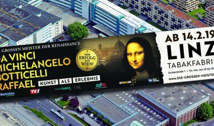 """""""Mona Lisa"""" kommt zu Besuch nach Linz!"""