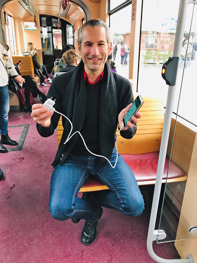 Fordert Strom zum Zapfen in Bus & Bim: Lorenz Potocnik