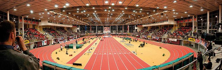 Die TIPS Arena kam im Vorjahr auf 280 Belegungstage