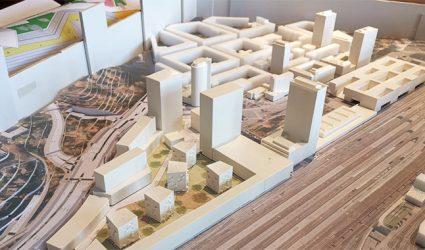 Hochhäuser in Linz: Auch am Bahnhof wird es weiter steil nach oben gehen