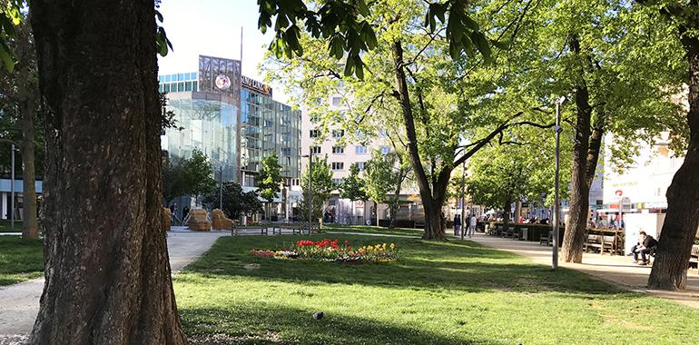 Unter dem Schillerpark soll eine Tiefgarage mit 1.030 Stellplätzen entstehen.
