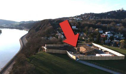 Westring-Baustelle: 350 Tonnen zusätzlicher Beton sollen brüchigen Fels kitten