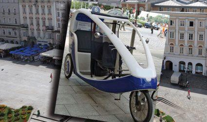 Nach E-Rollern kurven jetzt auch bald drei Fahrradrikscha-Taxis durch Linz