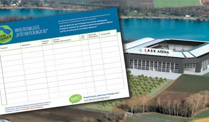 """Pichlinger See-""""Retter"""" haben bereits die ersten 1.000 Unterschriften gesammelt"""
