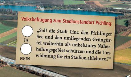 Showdown für den LASK-Stadionstandort am Pichlinger See