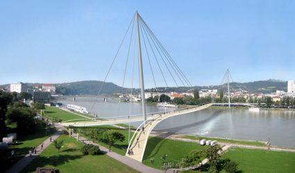 Der versunkene Linzer Donausteg…