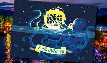 LINZ AG BUBBLEDAYS 2019: Es wird feucht, laut und ziemlich cool