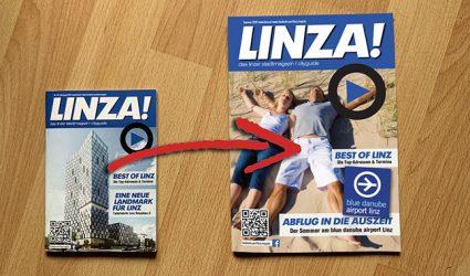 Das LINZA stadtmagazin wird grrrrrrößer!