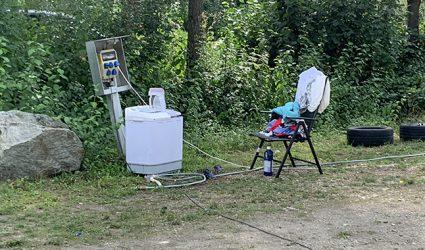 Grundwassergefährdung durch Wild-Camper am Pichlinger See?