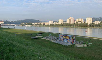 """Wird jetzt der gesamte Donaupark zum """"Schiffsbahnhof""""?"""