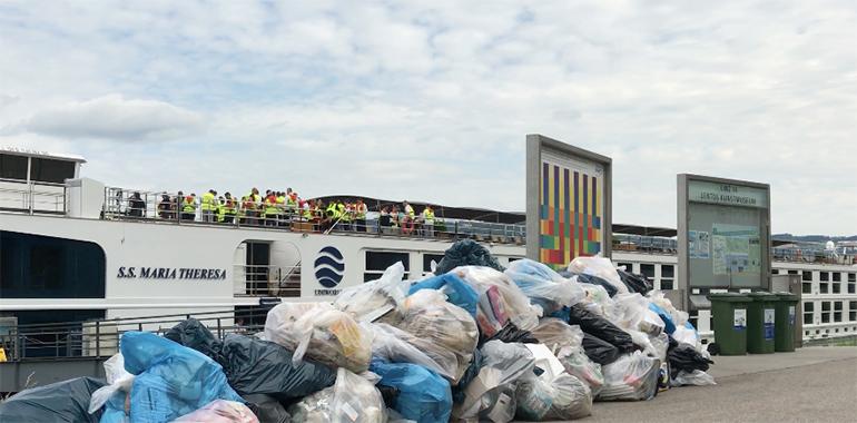 Auch die Müllproblematik – verursacht durch die vielen anlegenden Schiffe – erhitzt die Linzer Gemüter.