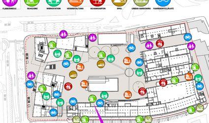 Grüne Dächer und und ein 'Urban Canyon': Die Tabkafabrik wird vom 'Nicotin Valley' zur Grünen Lunge