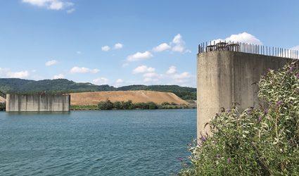 Die unvollendete Brücke von Linz