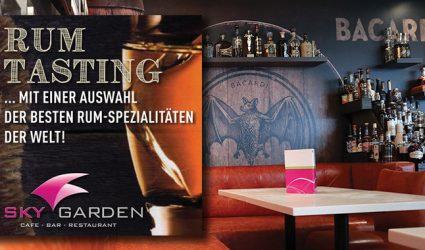 Rum-Tasting im Skygarden: Einer Legende auf der Spur