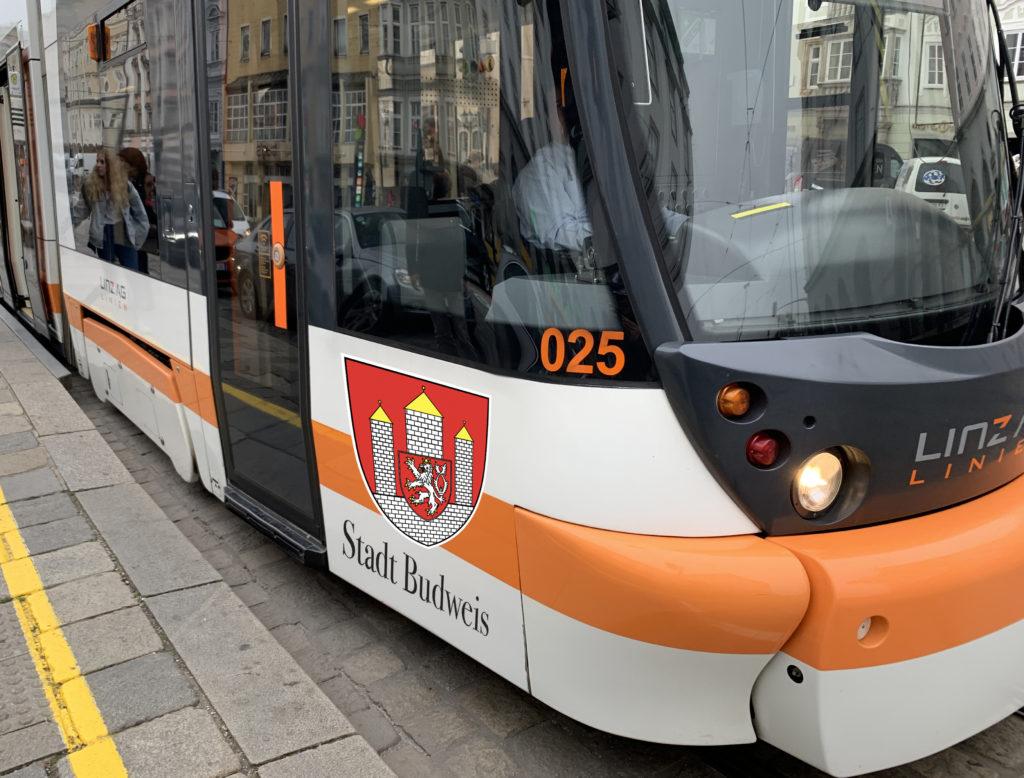 "Der Cityrunner #25 könnte bald als ""Stadt Budweis"" durch Linz rollen."