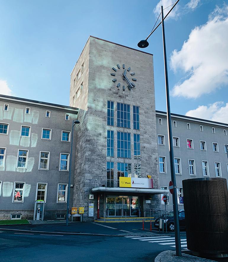 Charakterbau mit Ablaufdatum: das Hauptpostamt mit seinem markanten Turm – beides wird bis 2028 geschliffen.