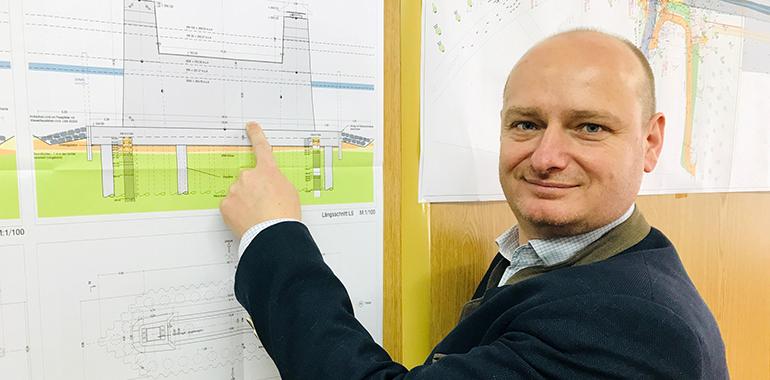 """Markus Hein zur Verzögerung beim Bau der Neuen Donaubrücke: """"Die Stadt Linz kann sich keinen Vorwurf machen, weil die Fehler von externen Planern gmacht wurden."""""""